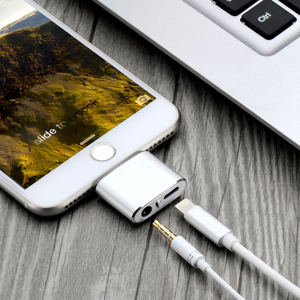 4-In-1 iOS Audio Charger Adapter