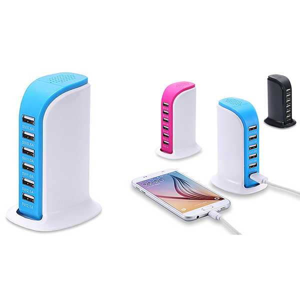 30 Watt 6 Port USB Charging Station - Best Seller
