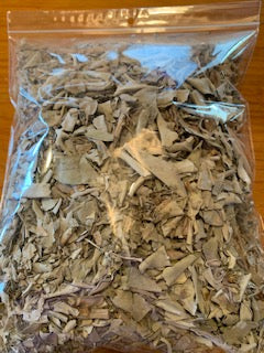 SPECIAL.......1LB OF CRUSHED WHITE SAGE LEAF