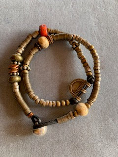 Tribal Bead bracelet or necklace