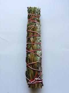 Three Sisters Smudge Stick 8""