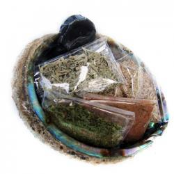 House Blessings (abalone shell w/herbs)
