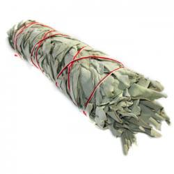 White Sage & Yerba Santa Smudge Stick 8""