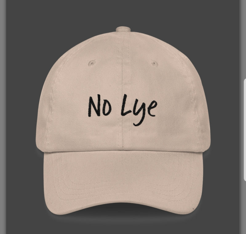 Tan No lye- dad hats