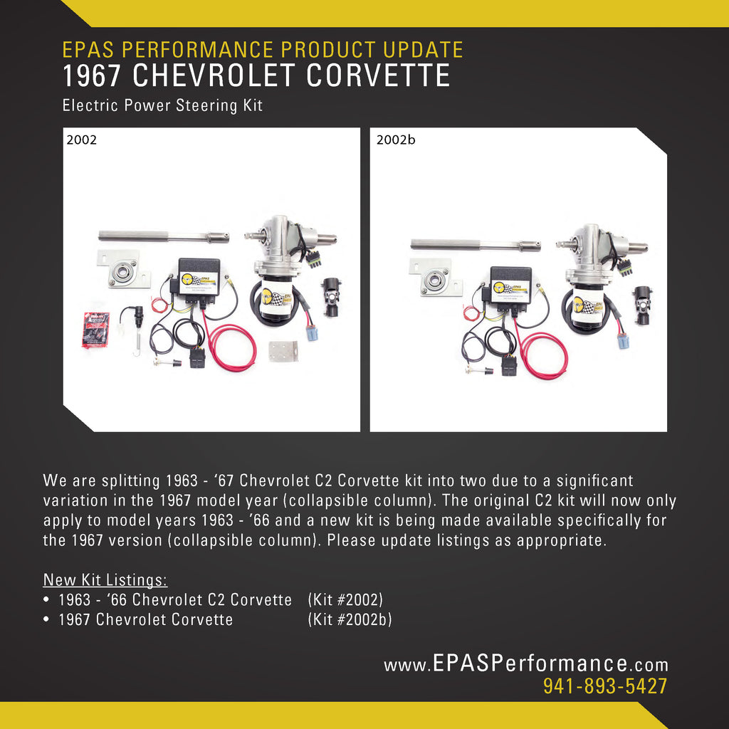 New Product Notification: 1967 Chevrolet Corvette