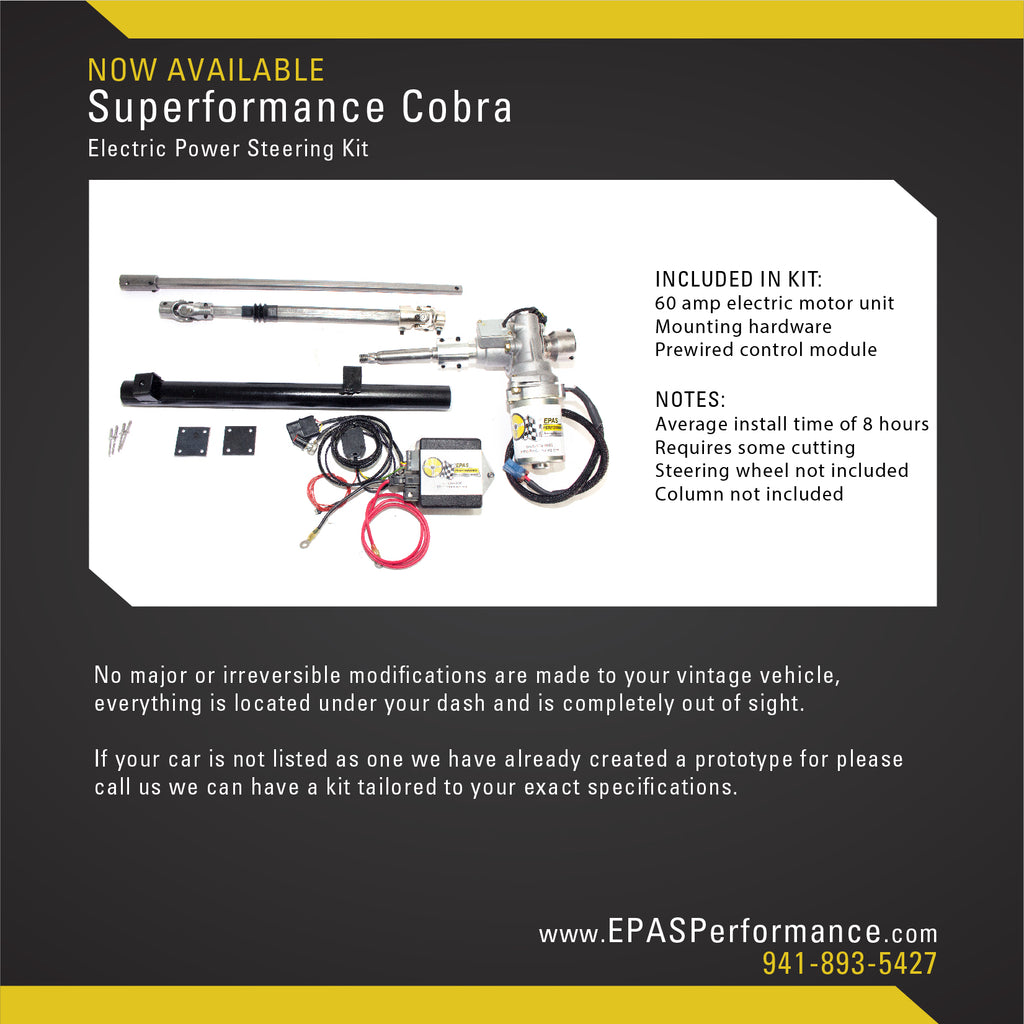 New Product Notification: Superformance Cobra
