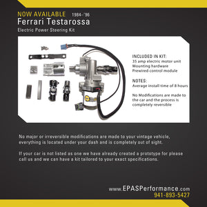 New Product Notification: Ferrari Testarossa