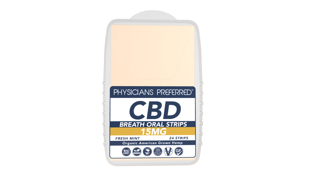 Fast-Acting CBD Strips