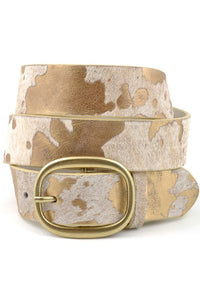 Cow Hide Belt