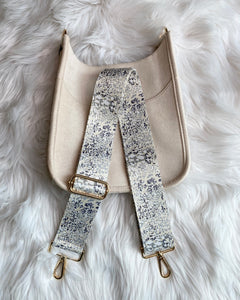 Blake Strap- Gray Cheetah