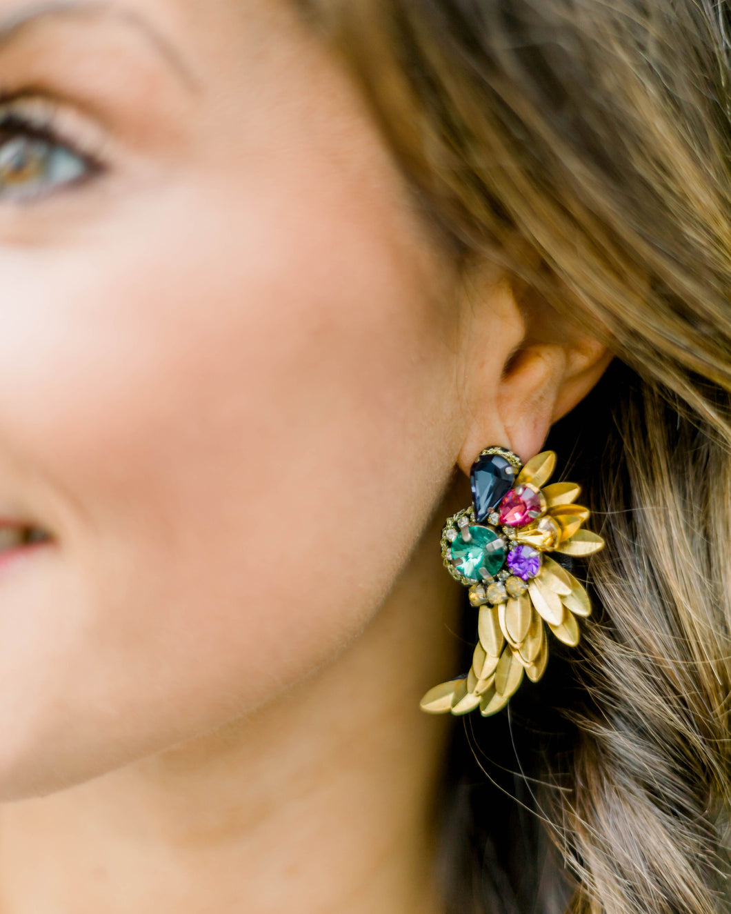 Allison Statement Earrings