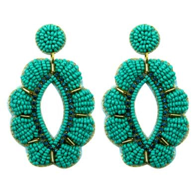 Olivia Earrings- Teal