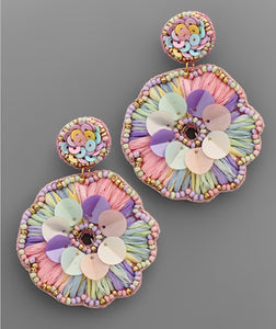 Brittany Earrings- Pastel/Multi