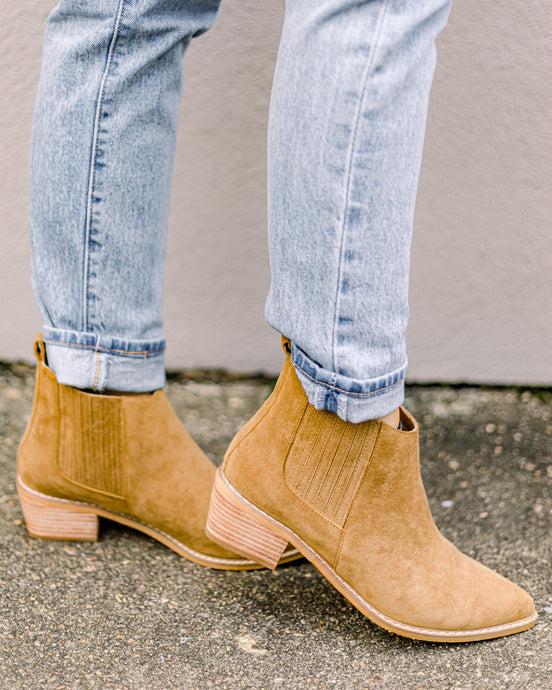 Addison Booties- Camel