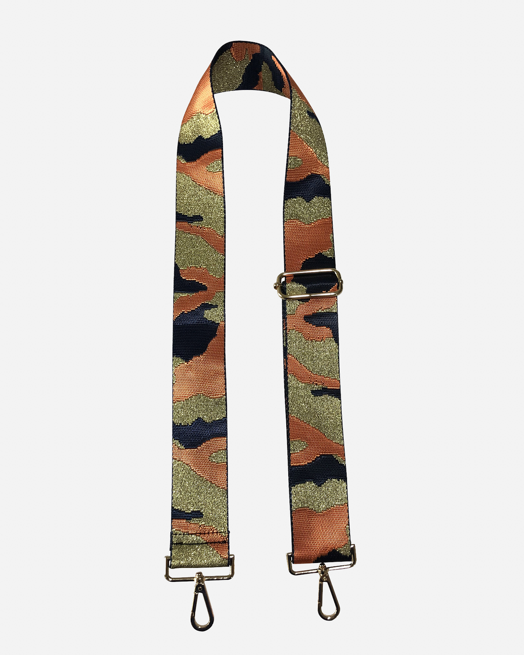 Blake Strap- Navy/Orange/Gold/Camo
