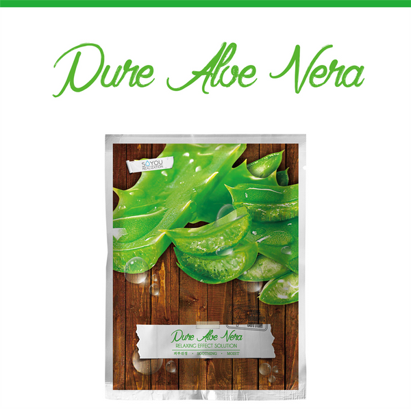 Pure Aloe Organic Cotton Sheet Mask