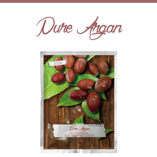 SALE/ Pure Argan Organic Cotton Sheet Mask