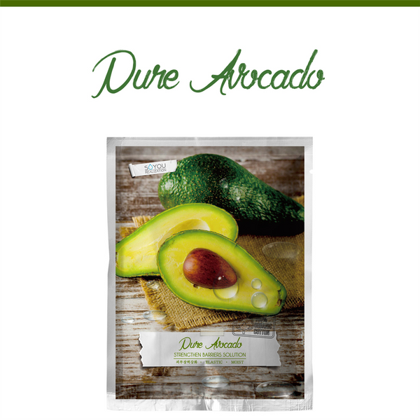Pure Avocado Organic Cotton Sheet Mask