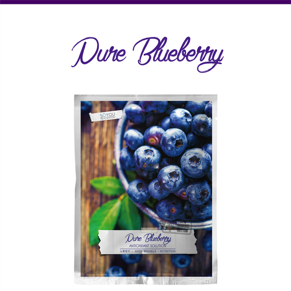 Pure Blueberry Organic Cotton Sheet Mask