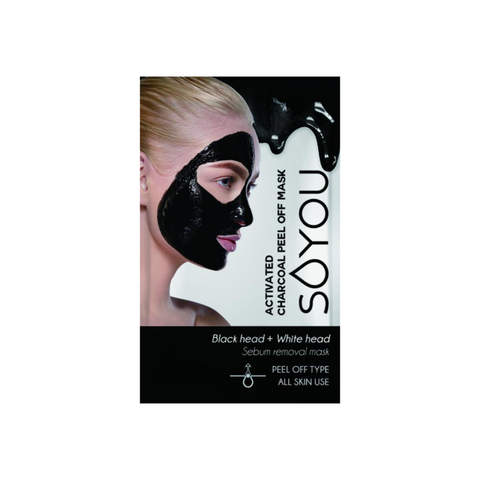 SALE/ Activated Charcoal Peel-Off Mask Pouch [20ml]