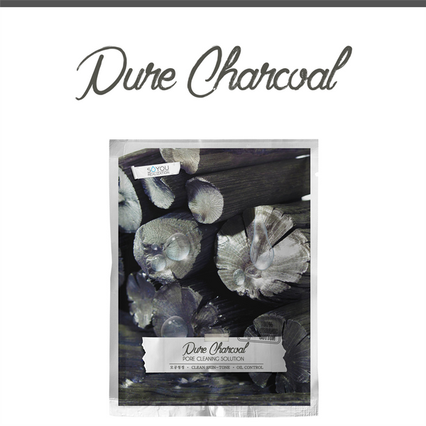 SALE/ Pure Charcoal Organic Cotton Sheet Mask