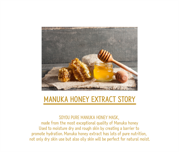 Pure Manuka Honey Organic Cotton Sheet Mask