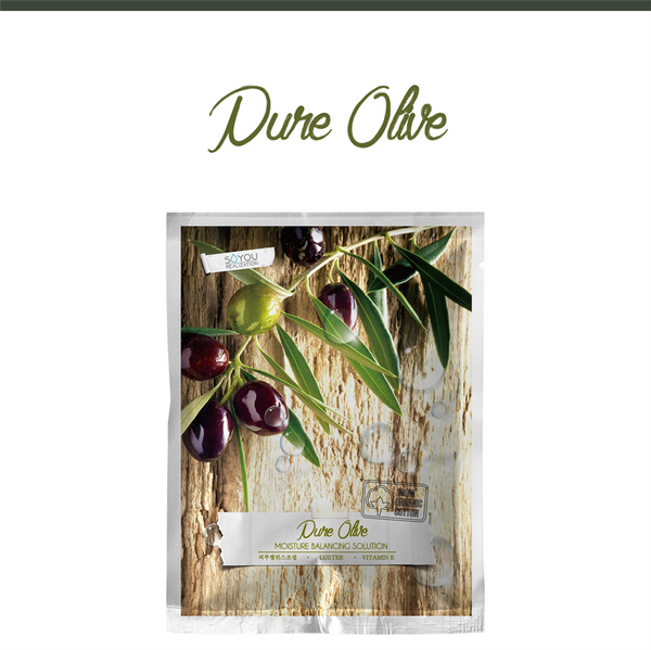 Pure Olive Organic Cotton Sheet Mask