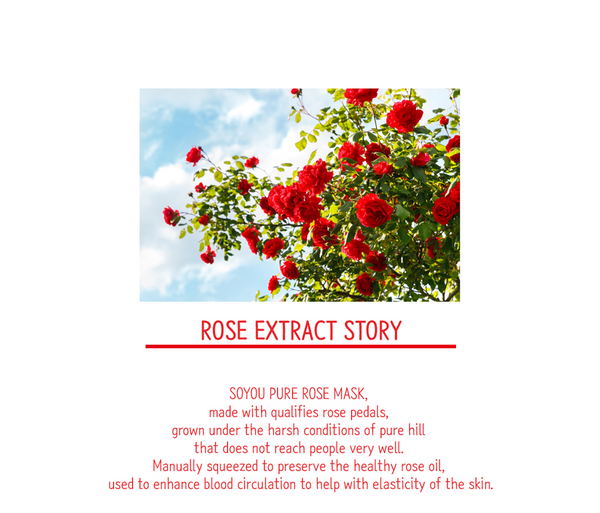 Pure Rose Organic Cotton Sheet Mask
