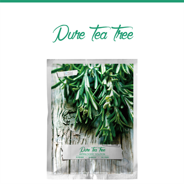 Pure Teatree Organic Cotton Sheet Mask
