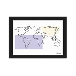 Wanderlust - Framed Wall Art*