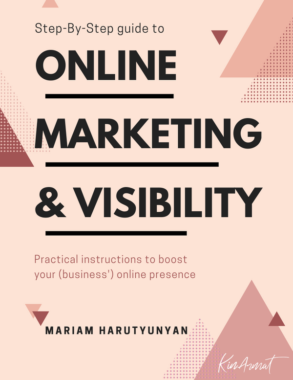 Step By Step Online Marketing and Visibility -Ebook