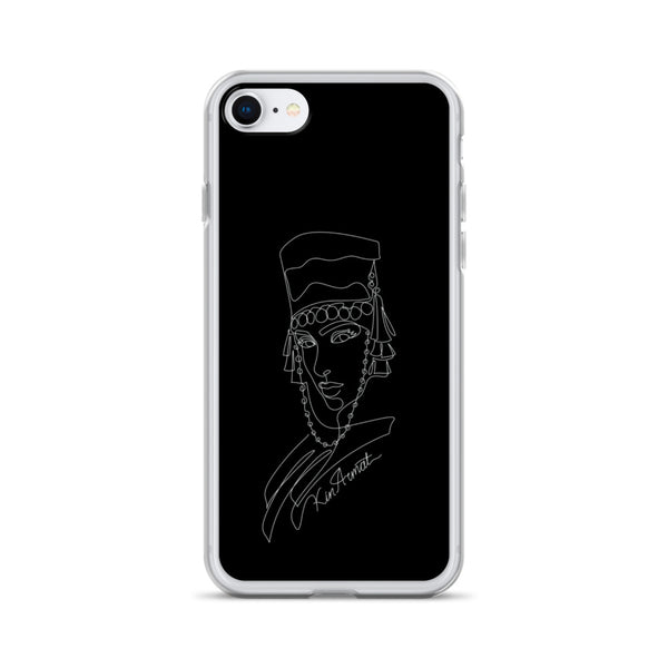 Lady in Taraz - iPhone Case