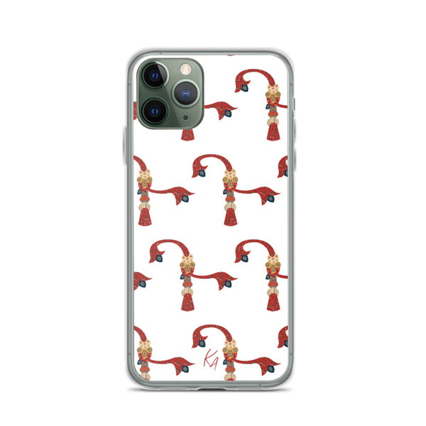 'D' - Armenian Letter Art - iPhone Case