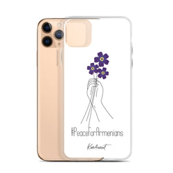 #PeaceForArmenians (Forget-me-not/Anmoruk) - iPhone Case