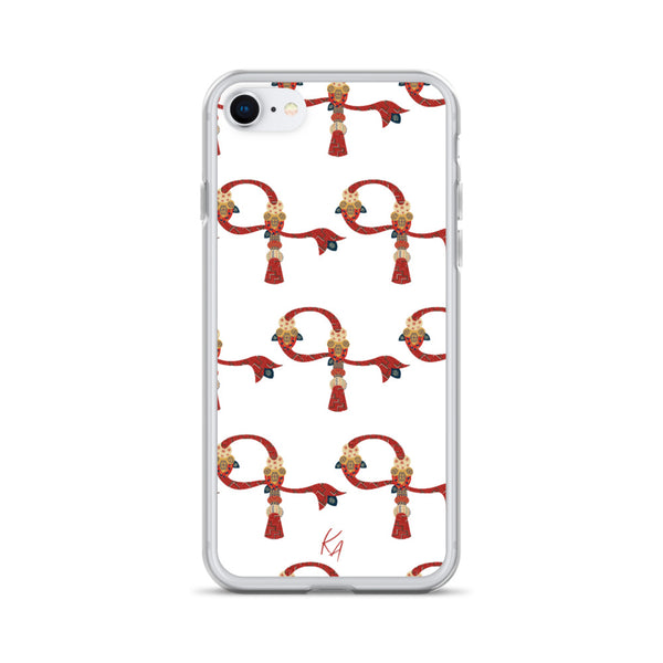 'G' - Armenian Letter Art - iPhone Case