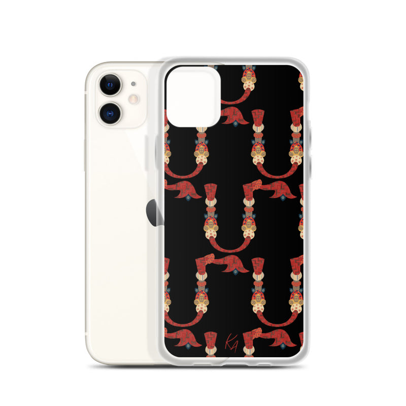 'M' - Armenian Letter Art - iPhone Case