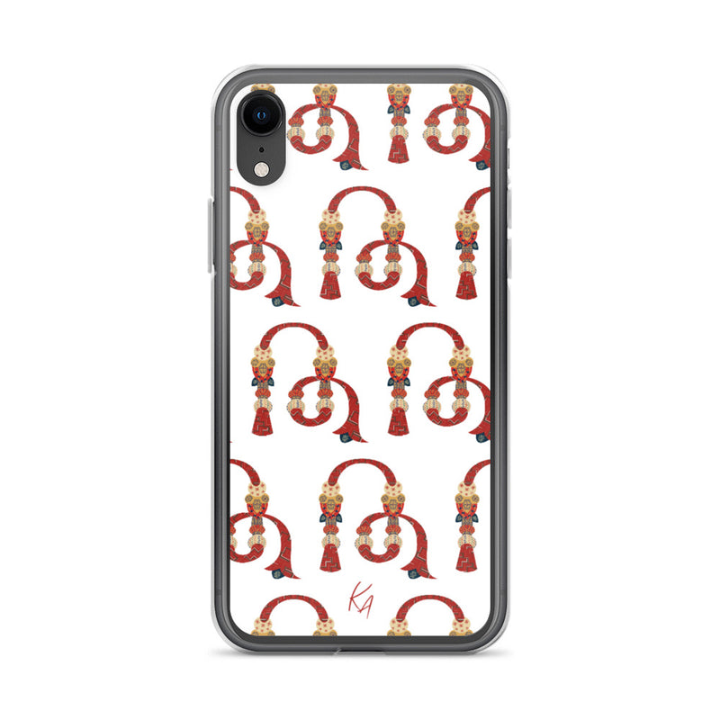 'TH' - Armenian Letter Art - iPhone Case