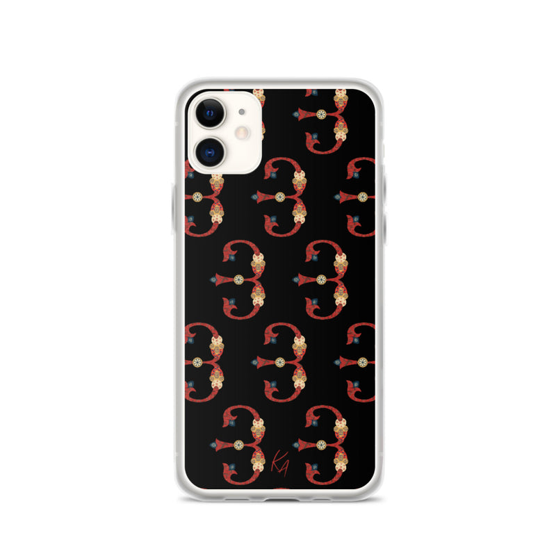 'J' - Armenian Letter Art - iPhone Case