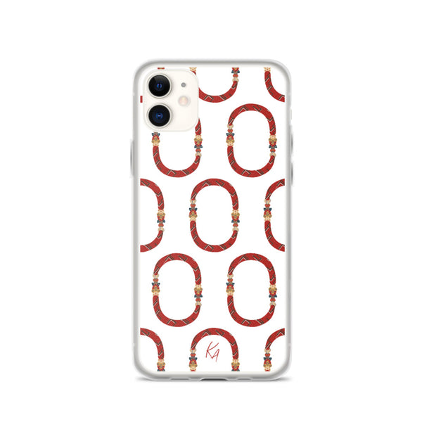 'O' - Armenian Letter Art - iPhone Case