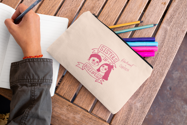 Sisters in Business - Pencil Case