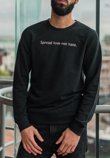 Spread love not hate - kinarmat