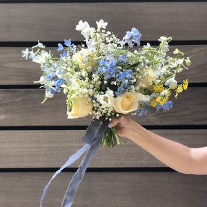 Personal Flowers for Brooklyn Wedding Elopement