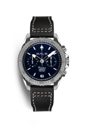 Catalina Blue Silver Aeronautical Chronograph 41