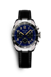 Dalton Blue Black Panda Chronograph 41