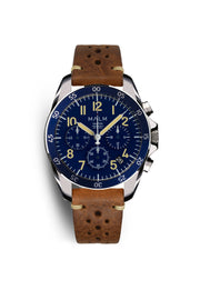 DALTON Blue Chronograph 41 - MALM watches