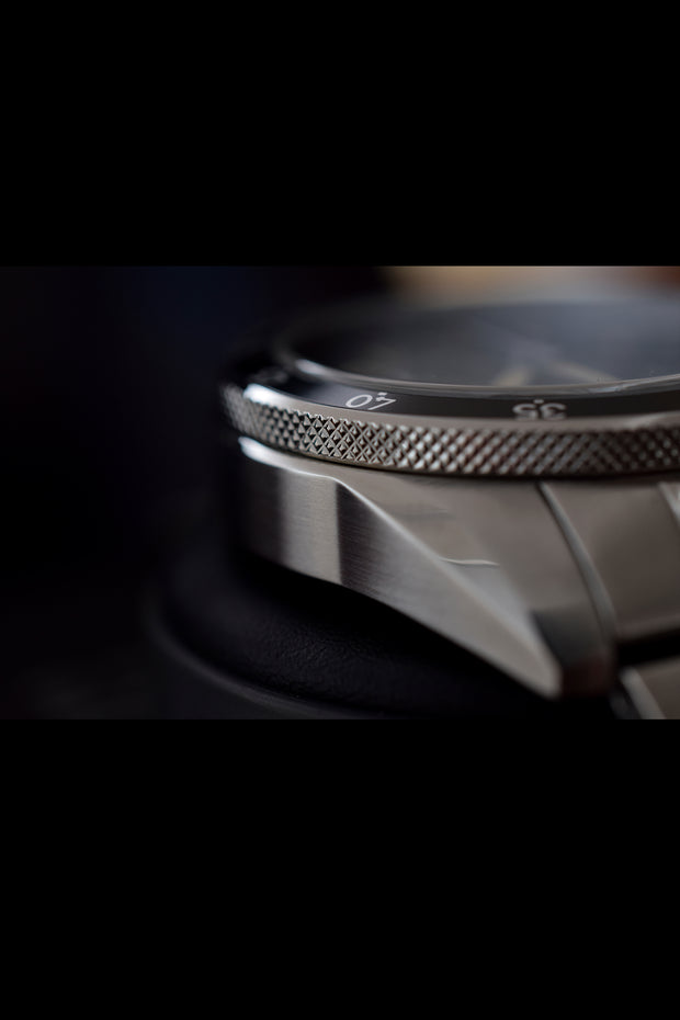 DALTON Black Chronograph 41 - MALM watches