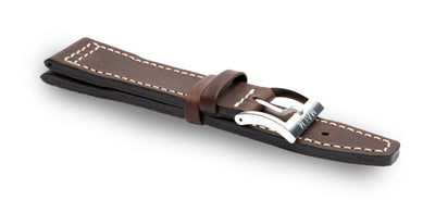 Brown Maverick Pilot Leather Strap