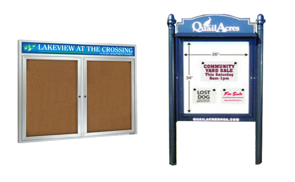 Entrance Signs & Community Readers