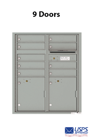 STD 4C Wall Mounted Units (9 Door Unit)