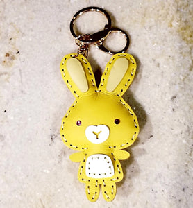 Bunny Backpack Friend Keychain - CrossBorderWear